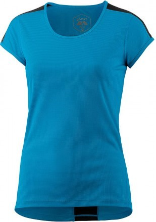 Asics Short Sleeve Top Blue Black
